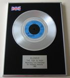 BLONDIE - THE TIDE IS HIGH PLATINUM Single Presentation DISC
